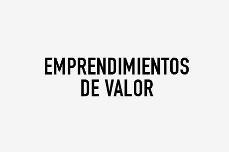 EMPRENDIMIENTOS DE VALOR
