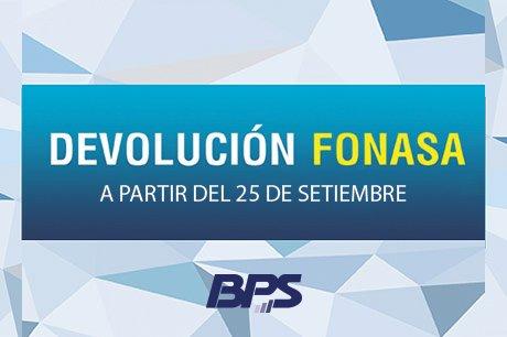 DEVOLUCIÓN FONASA 2017