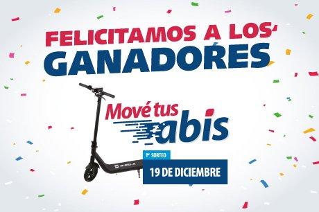 2019- FELICITAMOS A LOS GANADORES DEL 1° SORTEO