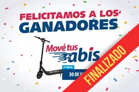 2.2- FELICITAMOS A LOS GANADORES DEL 2° SORTEO