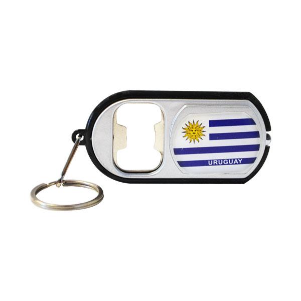 LLAVERO URUGUAY C/LINTERNA